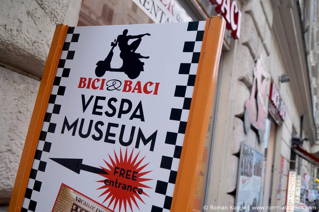 Vespa-Museum in Rom
