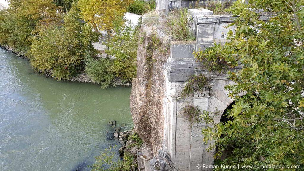 Brücke Ponte Rotto in Rom