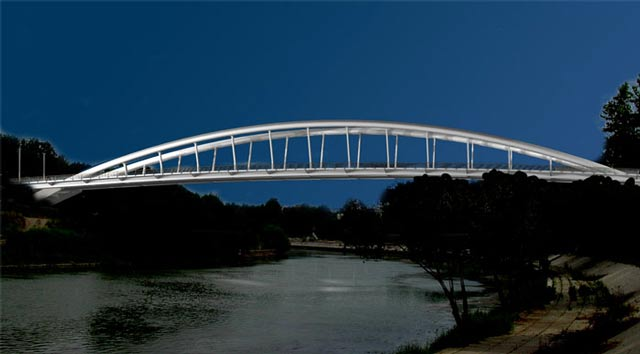 Brücke Rom Ponte della Musica