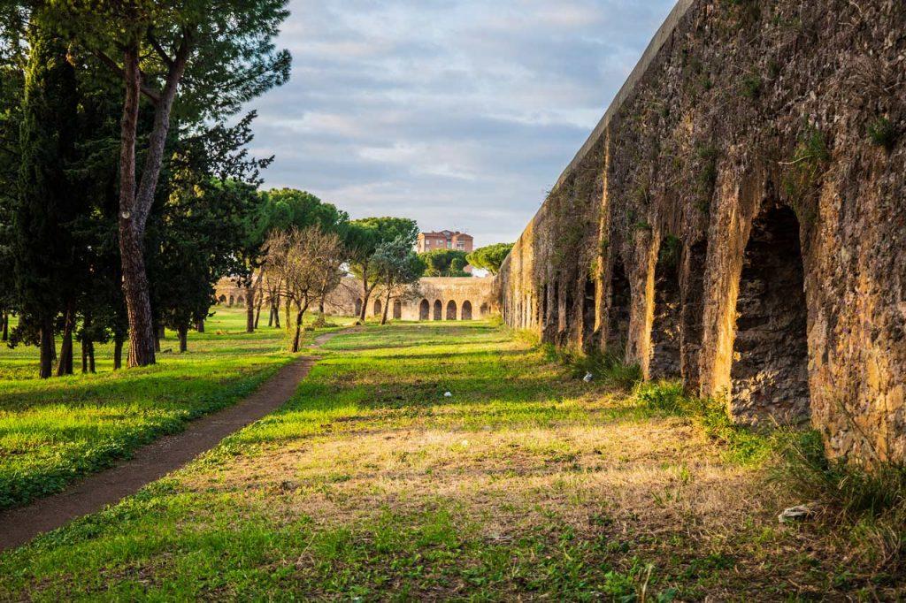 Parco degli Acquedotti Park Rom