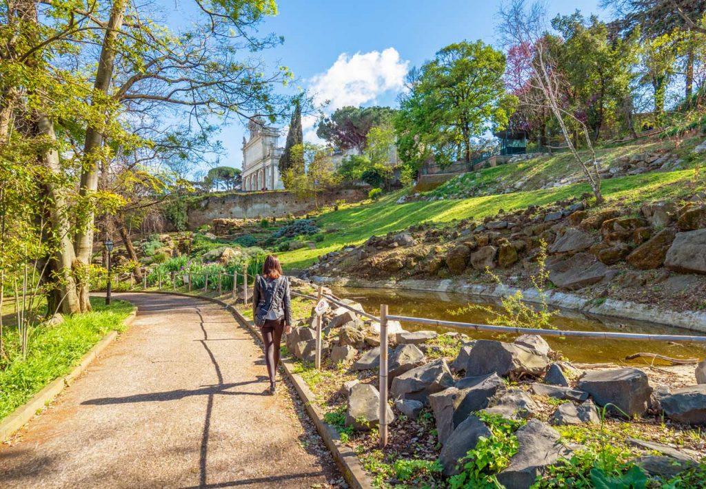 Park Orto Botanico Rom