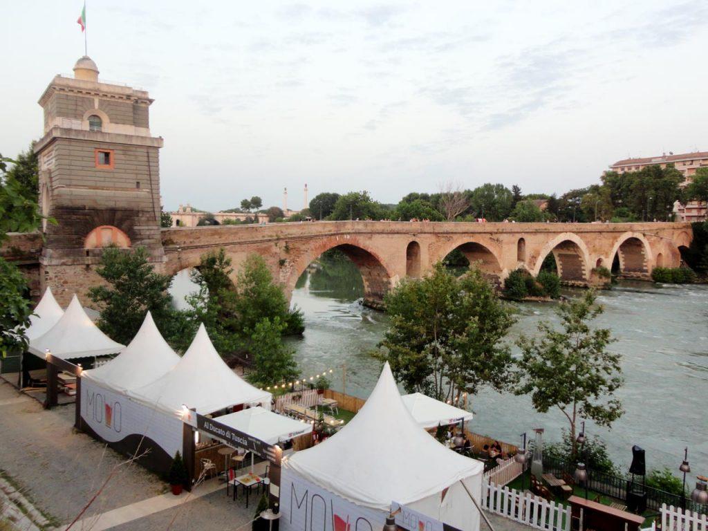 Ponte Milvio Rom