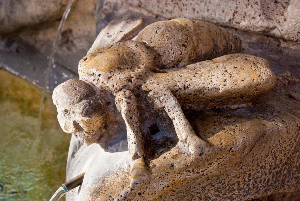Bienenbrunnen Fontana delle Api in Rom