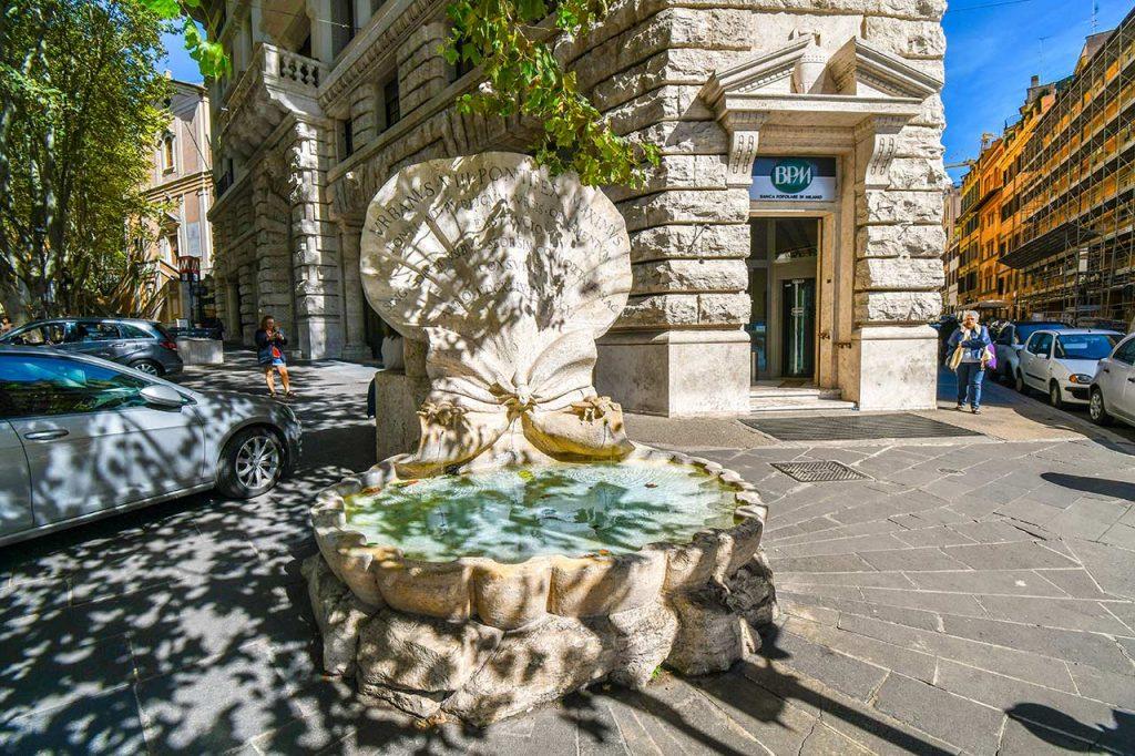 Fontana delle Api Brunnen in Rom