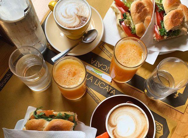 Frühstück La Licata Rom