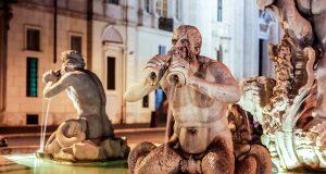 Mohrenbrunnen Rom an der piazza Navona