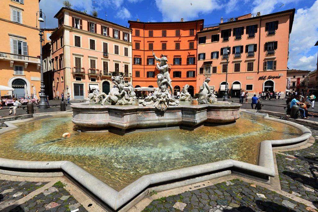 Neptunbrunnen PIazza Navona Rom