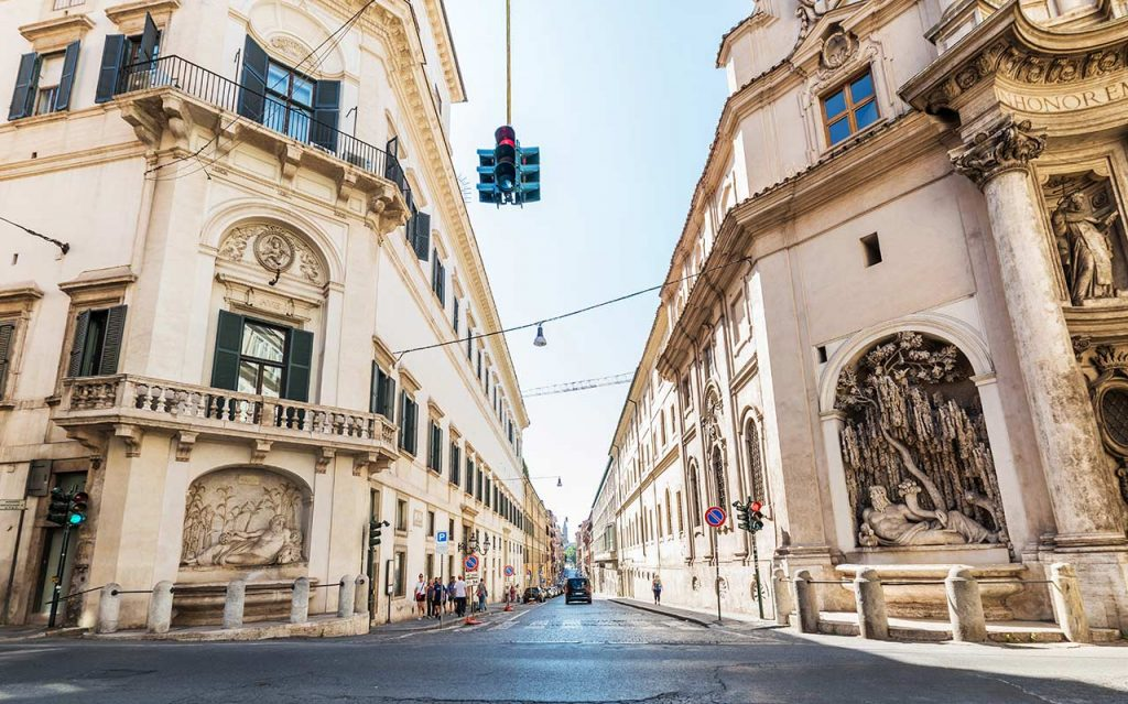 Quattro Fontane Brunnen Rom